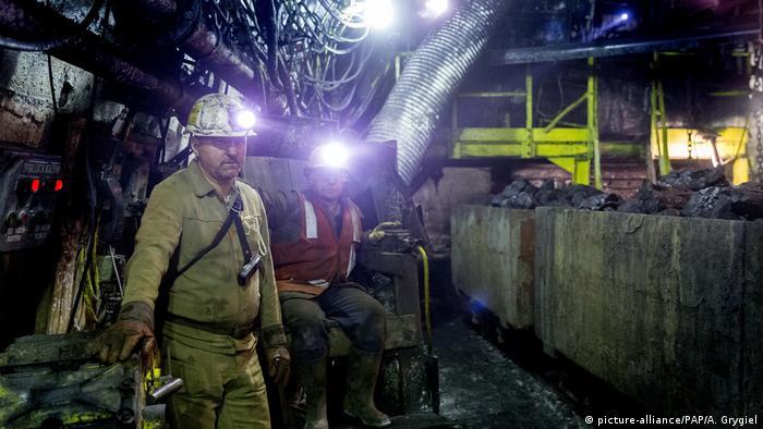 Polish coalminers