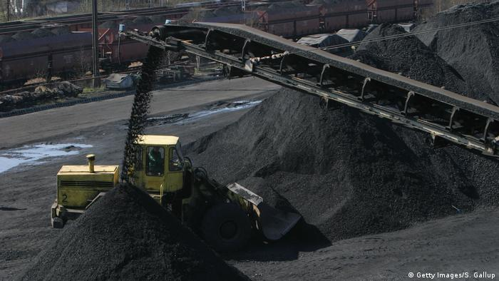 Kopalnia węgla kamiennego w Katowicach