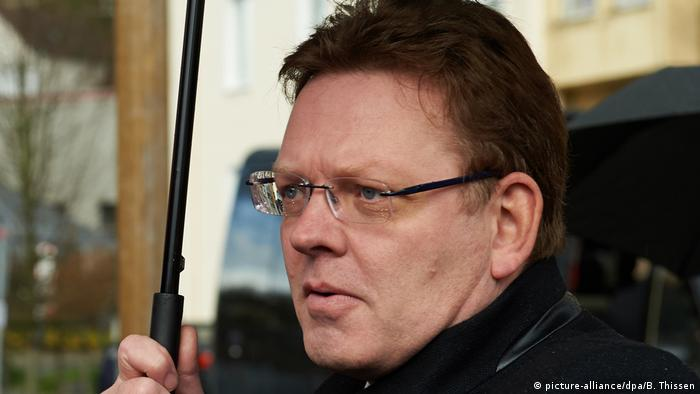 Deutschland Bürgermeister von Altena Andreas Hollstein (picture-alliance/dpa/B. Thissen)