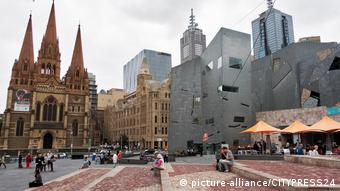 Federation Square in Melbourne (picture-alliance/CITYPRESS24)