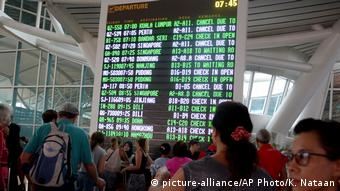 Indonesia - Ngurah Rai International Airport on Bali