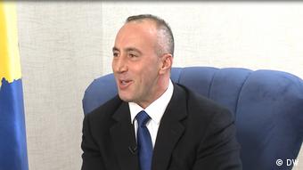 Ramush Haradinaj im DW-Interview (DW)