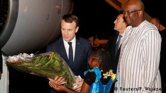 Burkina Faso - Emmanuel Macron mit Roch Marc Chiristian Kabore