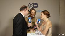DW Bundespresseball Interview Beat Balzil mit Katja Kipping