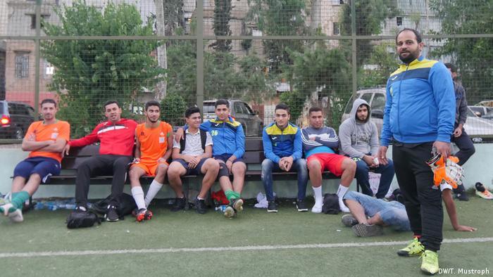 Beirut - Flüchtlingslager Chatila - Fussball Team
