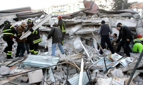 Bildergalerie Erdbeben in Italien
