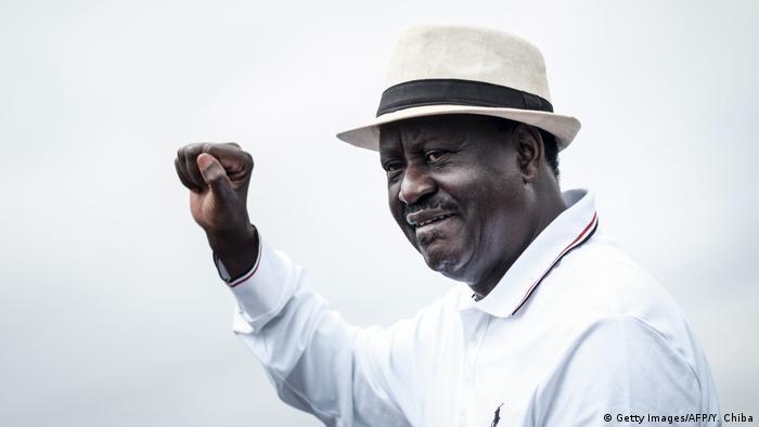 Odinga reivindicava ter sido vencedor nas eleições do ano passado