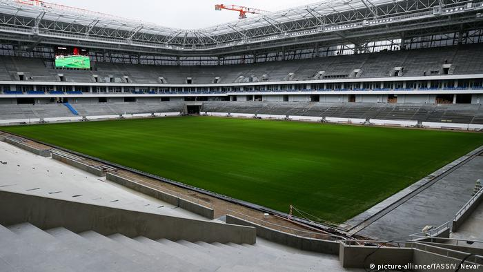Калининград е най-западният домакин на срещи от Световното първенство в Русия през 2018 година. По време на турнира съоръжението, което все още се изгражда, ще разполага с малко над 35 000 места, които обаче по-късно ще бъдат намалени до 25 000. Причината: местният ФК Балтика играе ту във втора, ту в трета футболна лига и не може да напълни трибуните на по-голям стадион.
