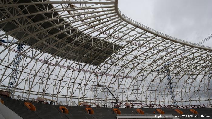 Russland Saransk WM Stadion (picture-alliance/TASS/S. Krasilnikov)
