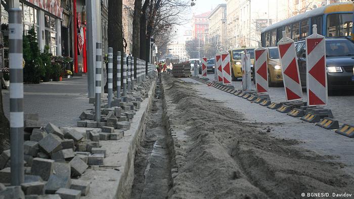 Ремонтът на булевард Дондуков