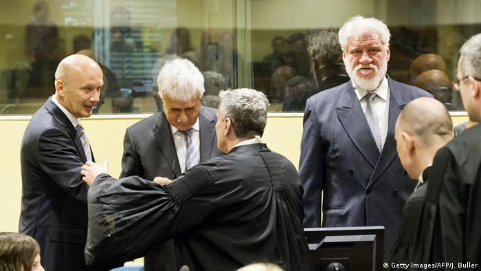 Haager Tribunal Urteil Kroaten aus Bosnien und Herzegowina (Getty Images/AFP/J. Buller)