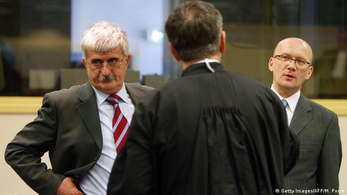 Haager Tribunal Urteil Kroaten aus Bosnien und Herzegowina