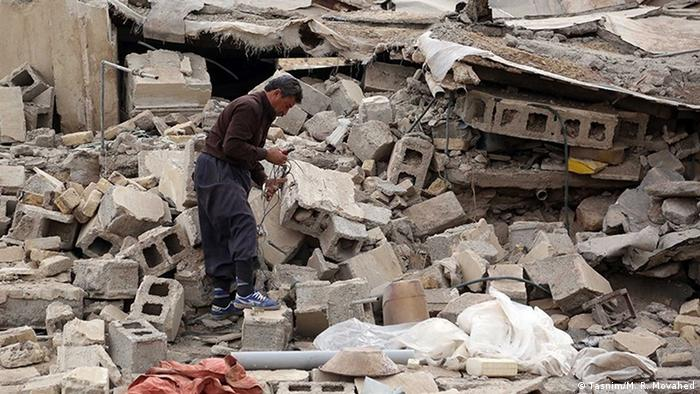 Iran - Erdbeben im Kermanshah (Tasnim/M. R. Movahed)