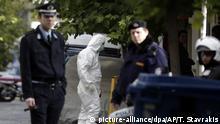 Griechenland - Festnahmen nach Razzia in Athen