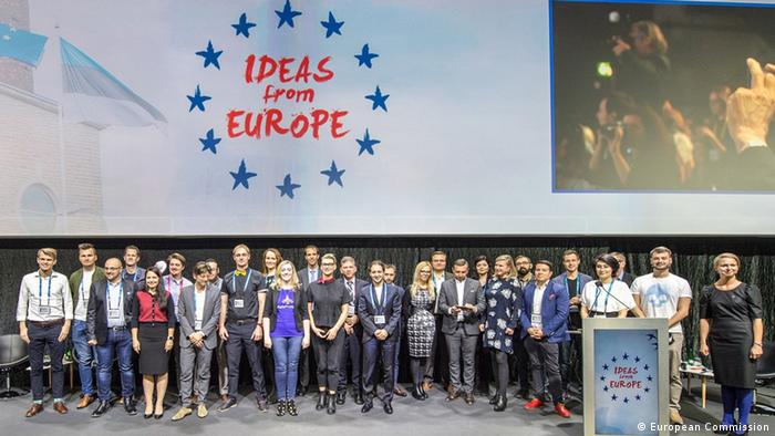Estland Talinn - Ideas from Europe startup competition semi-finalists (European Commission)
