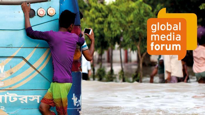 Logo para o Fórum Global de Mídia GMF 2018