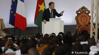 Burkina Faso Emmauel Macron Besuch bei Roch Marc Kaboré in Ouagadougou