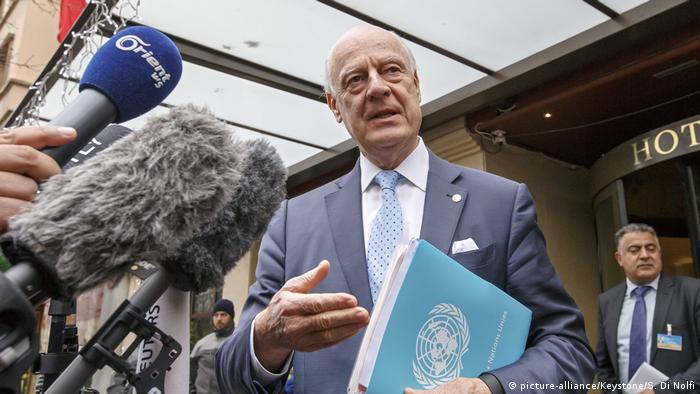 Cпецпредставитель ООН по Сирии Стаффан де Мистура