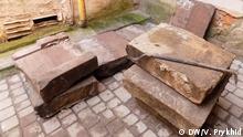 Ukraine Lwiw Fund jüdischer Grabsteine
