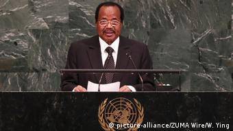 USA New York UN Paul Biya