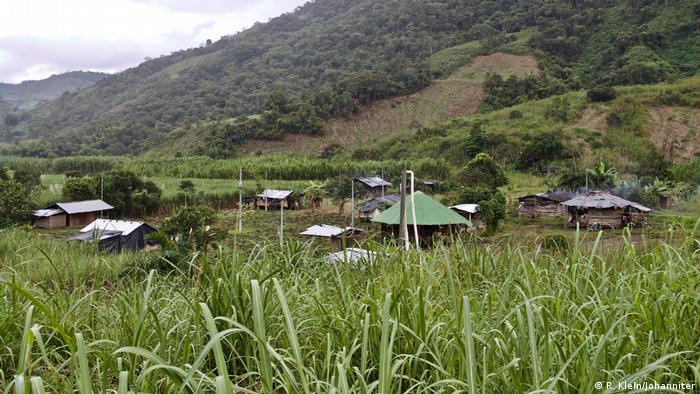 Kolumbien Embera Katio Dorf