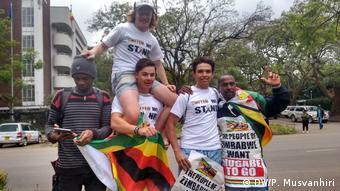Simbabwe Proteste in Harare