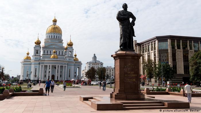 Russland Kathedrale Saransk (picture-alliance/M. Becker)