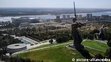 Russland Wolgograd Statue