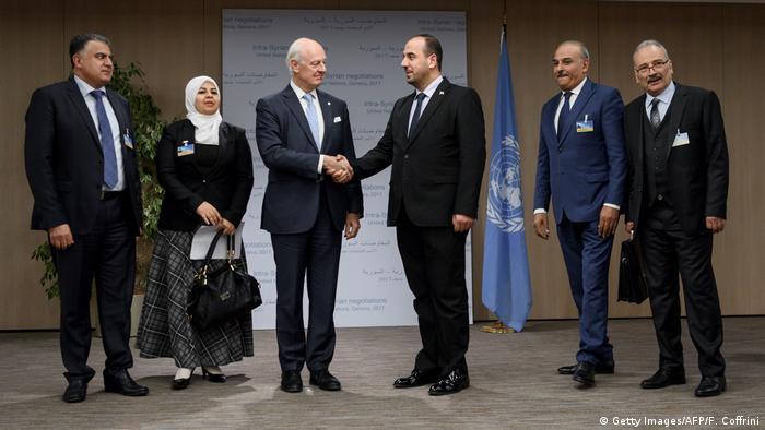 Учасники восьмого раунду переговорів щодо Сирії у Женеві