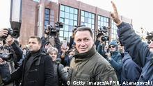 Mazedonien Proteste in Skopje VMRO DPMNE Nikola Gruevski