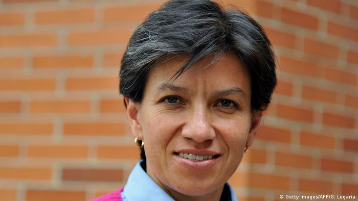 Kolumbien Politikerin Claudia Lopez in in Bogotá (Getty Images/AFP/G. Legaria)