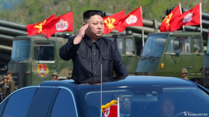 Nordkorea Kim Jong Un in Pjöngjang