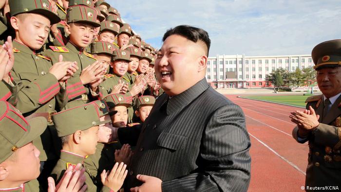 Nordkorea Kim Jong Un in Pjöngjang (Reuters/KCNA)