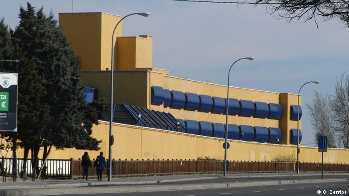 A Spanish detention center