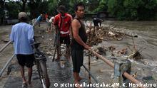 Indonesien - Hochwasser (picture-alliance/abaca/M. K. Hendratmo)