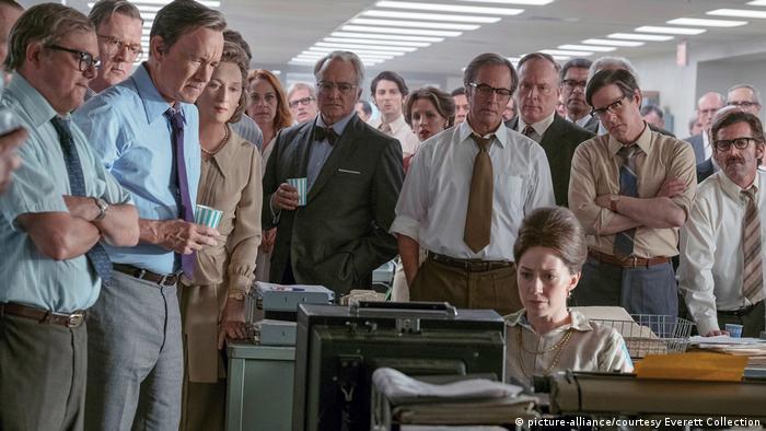 US-Filmverband kürt Spielberg-Drama «The Post» zum Film des Jahres