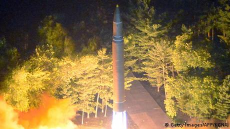 Nordkorea Hwasong-14 Test (Getty Images/AFP/KCNA)