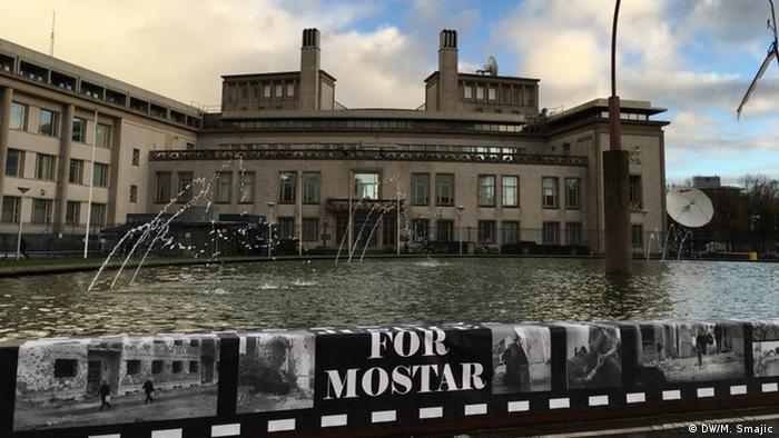 Niederlande Den Haag - UN-Kriegsverbrechertribunal fällt sein letztes Urteil - Urteil über sechs bosnische Kroaten (DW/M. Smajic)