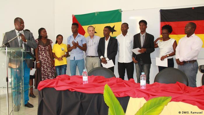 Eröffnung der Deutschen Sprachabteilung an der Universität von Sao Tome e Príncipe