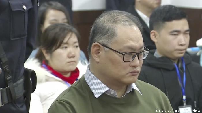 China Aktivist Lee Ming-che