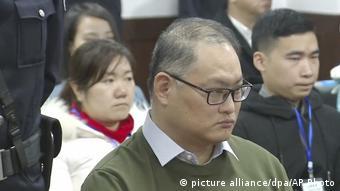 China Aktivist Lee Ming-che (picture alliance/dpa/AP Photo)