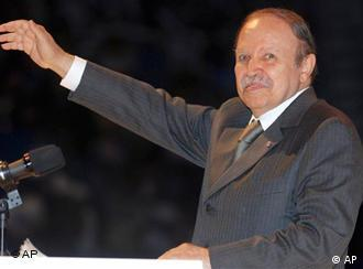 Algerischer Präsident Abdelaziz Bouteflika (Foto: AP)