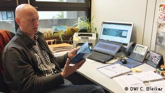 Christoph Fantini, head of the teaching program at the University of Bremen