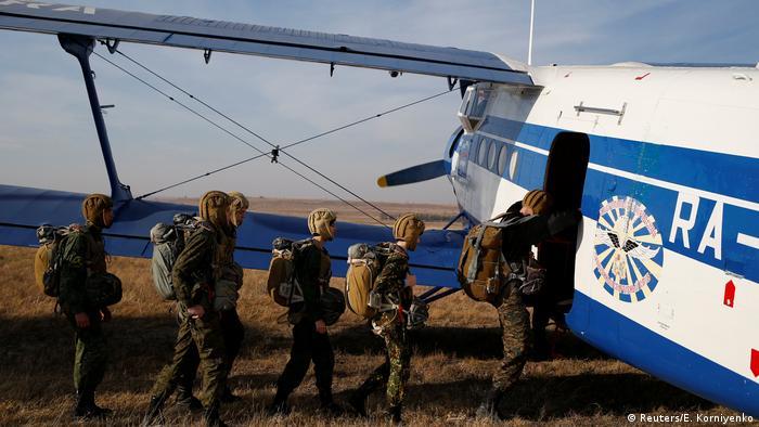 Russland - Teenager in der Militärausbildung (Reuters/E. Korniyenko)