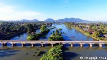 Laos Mekong-Fluss