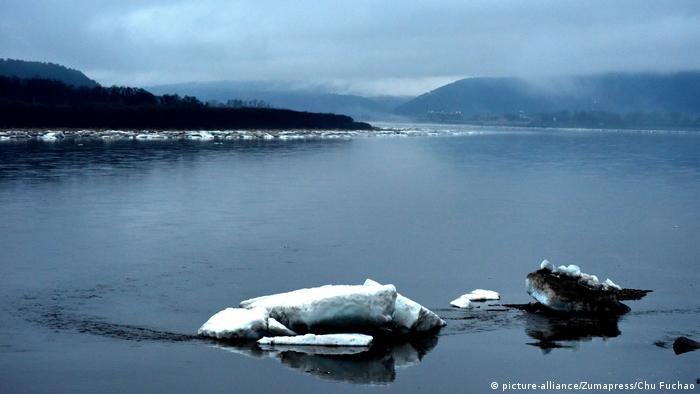 Ice on the Amur River