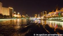 China Hai He Fluss Haihe River in Tianjin
