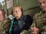 Меркель по пути в Афганистан