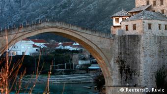 Bosnien und Herzegowina Mostar Zerstörung vorher/nachher (Reuters/D. Ruvic)
