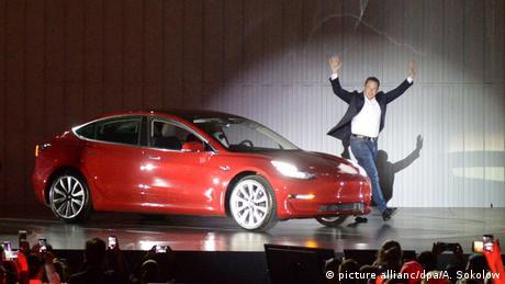Tesla Elon Musk (picture allianc/dpa/A. Sokolow)